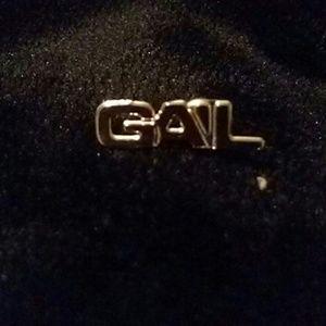 Vintage Gail lapel pin